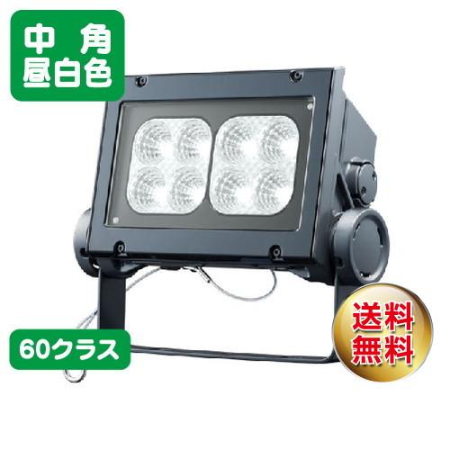岩崎電気 ecf6040m/nsan8/dg led投光器 レディオックフラッドネオ 60クラス 中角タイプ 昼白色タイプ
