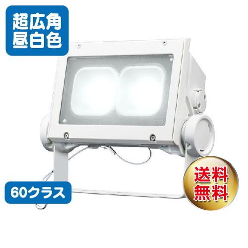 岩崎電気 ecf6040sw/nsan8/w led投光器 レディオックフラッドネオ 60クラス 超広角タイプ 昼白色タイプ