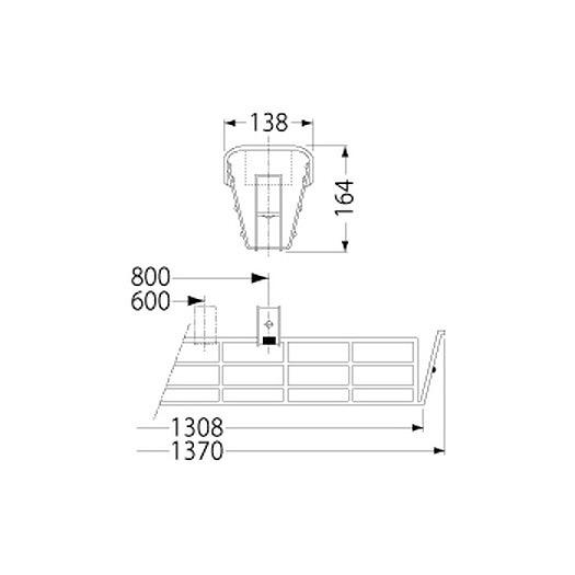 PF41501/ガード/LEDベースライト(40Wタイプ)用
