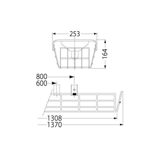 PF41511/ガード/LEDベースライト(40Wタイプ)用