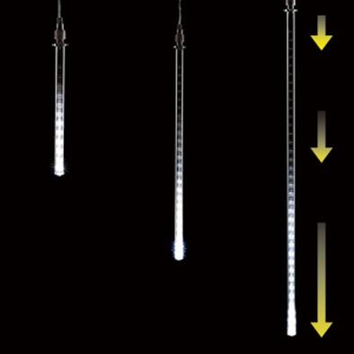 LEDスノーフォールライト/ホワイト/20cm/60841-1W