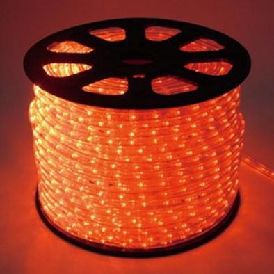 発光ロープライト/45m/オレンジ/60755ORG
