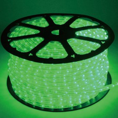 発光ロープライト/45m/グリーン/60755GRN