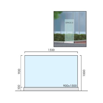 OS-20005-XX/自立サイン/オガワ/エクステリアサイン
