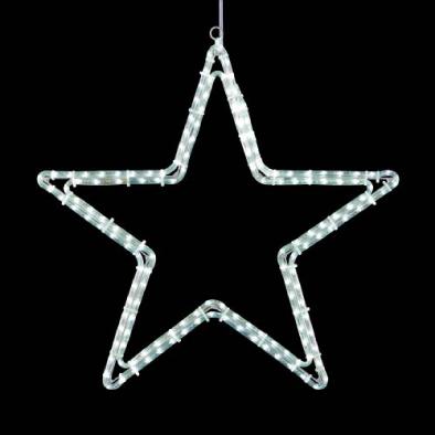 東京大西造花装飾/耐水65cm234球広角型LEDホワイトロープライトスター/DILI61344