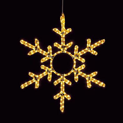 東京大西造花装飾/耐水65cm200球広角型LEDシャンペーンロープライトスノーフレーク/DILI61100