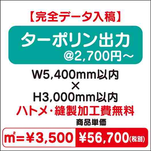 スエード出力/ハトメ・縫製加工費無料/W5,400×H3,000