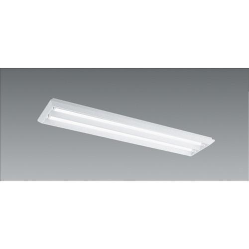 遠藤照明,施設照明,直管形LEDベースライト,本体,40Wタイプ,埋込/直付兼用,下面開放形,2灯用,ERK9087W