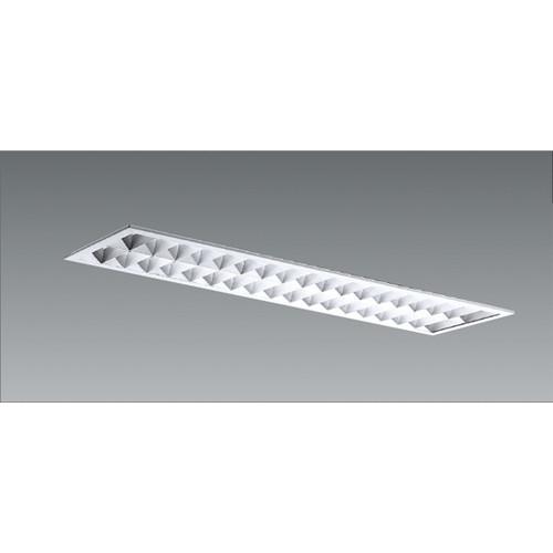 遠藤照明,施設照明,直管形LEDベースライト,本体,40Wタイプ,埋込,アルミルーバ形,2灯用,W:220,ERK9085W