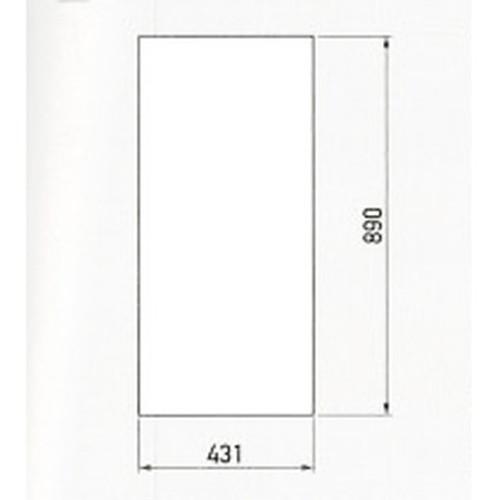 GX,UNI-01(ユニ01)白無地面板,UN-01-0