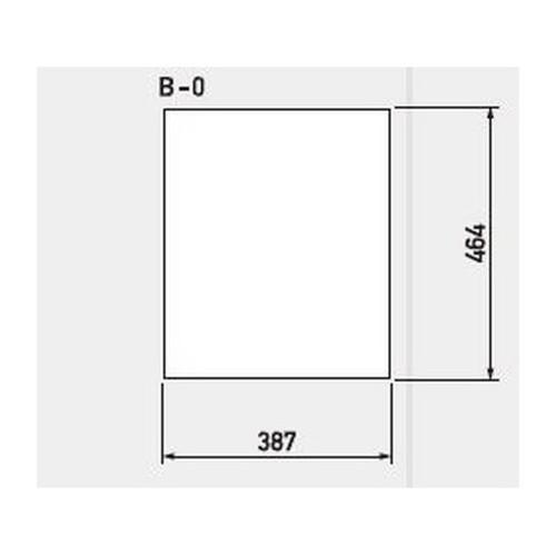 GX,バリアポップサイン,白無地面板,B-0