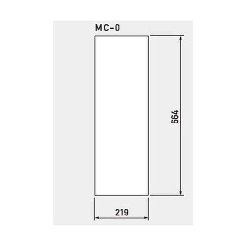 GX,マルチクリッピングサイン,白無地面板,MC-0