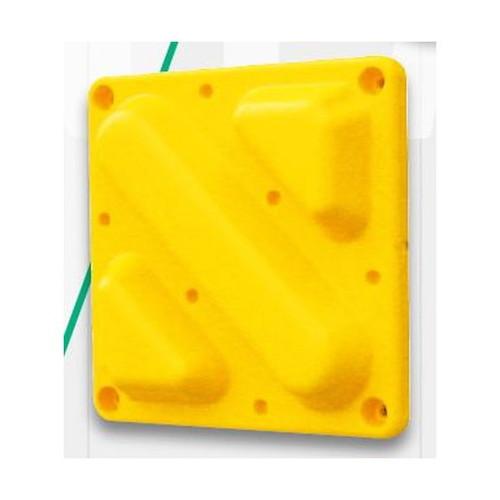 GXセーフティコーンパッドブロックタイプ5個セットG-CP2-Yなら看板材料.comの商品画像