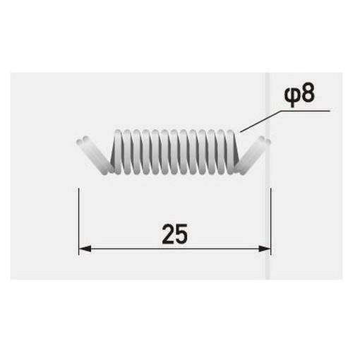GXフレキシブルプロテクターバネ25mmなら看板材料.comの商品画像