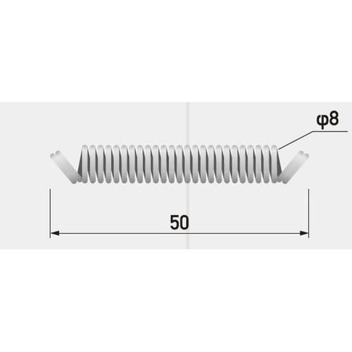GX,フレキシブルプロテクター,バネ(50mm)