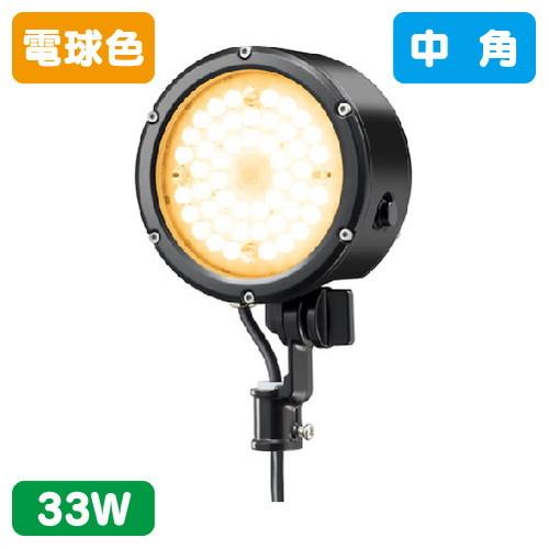 岩崎電気,E30015M/LSAN9/BK,LED投光器,レディオックフラッドルント,33Wタイプ,中角