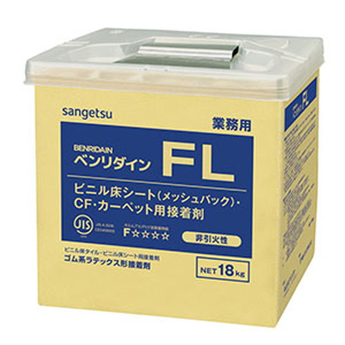 サンゲツ,接着剤,床用,ゴム系ラテックス形,FL,18kg,BB-515