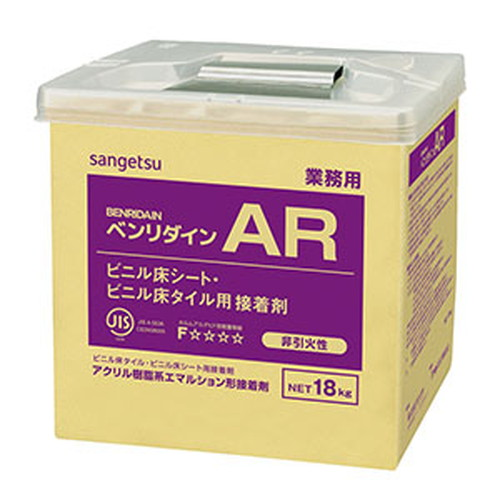 サンゲツ,接着剤,床用,アクリル樹脂系エマルション形,AR,18kg,BB-516