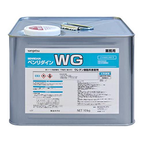 サンゲツ,接着剤,床用,耐湿工法用接着剤(1液性),WG,10kg,BB-602