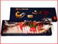 2020-46 【中辛】紅鮭切身1尾(真空パック化粧箱入り・約2kg~2.2kg)