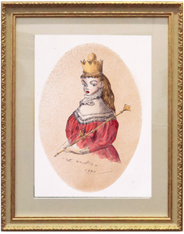 「王女に扮するアリス」   ジグレー / Limited Edition 35