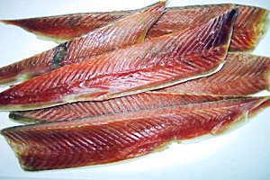 鮭味付きハラス
