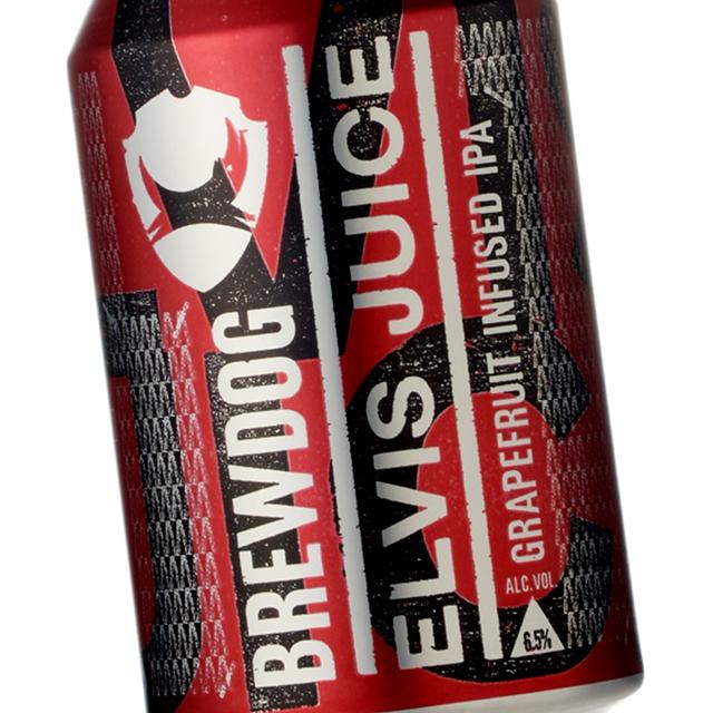 BrewDog (ブリュードッグ) エルビスジュース 330ml (缶)
