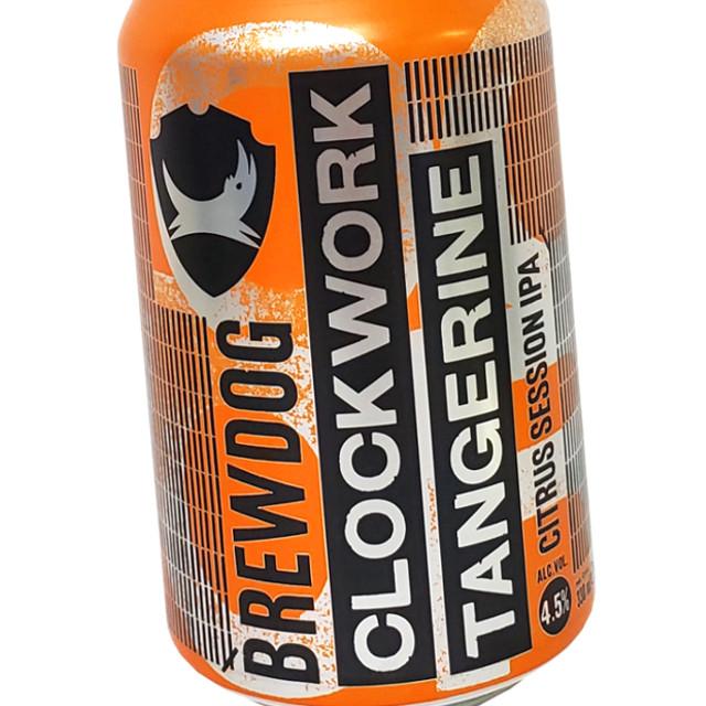 BrewDog (ブリュードッグ) クロックワーク タンジェリン 330ml (缶)