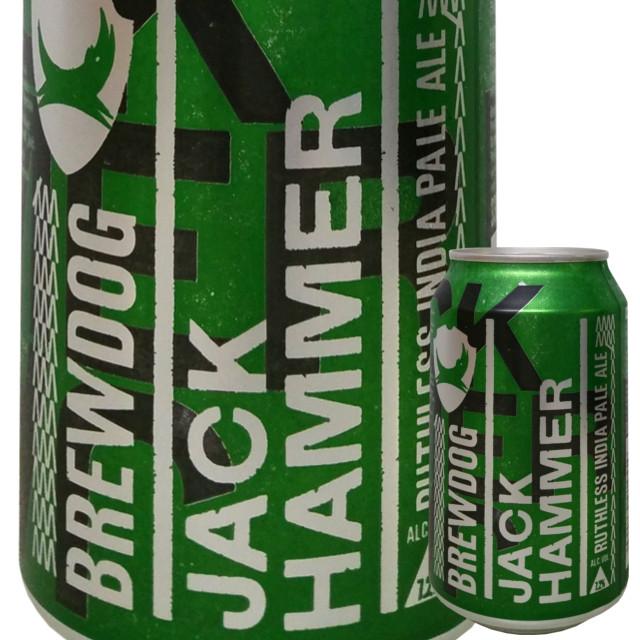 ブリュードッグ ジャックハマー IPA 330ml (缶)