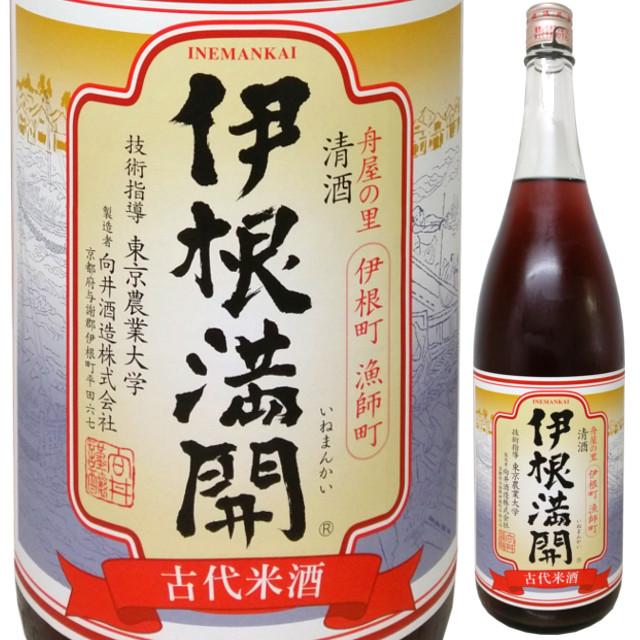 京の春 伊根満開 古代米酒 1800ml