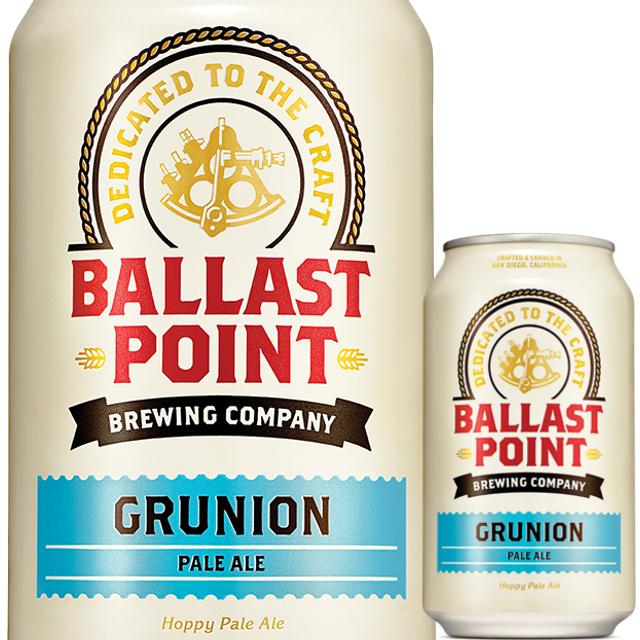 Ballast Point (バラストポイント) グルニオン ペールエール缶 355ml