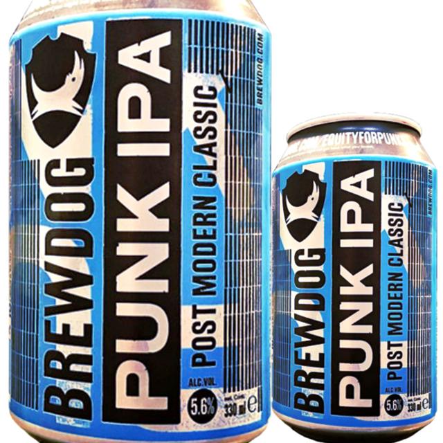 ブリュードッグ パンク IPA 330ml (缶)