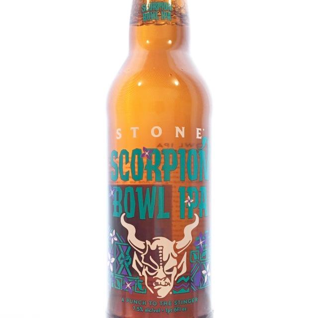 【クール便必須】 Stone (ストーン) Scorpion Bowl IPA (スコーピオン ボウル IPA) 650ml