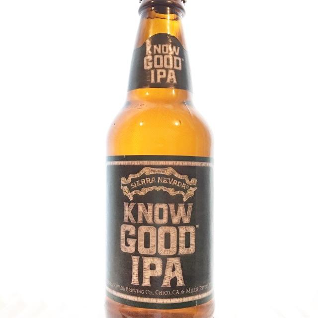 【クール便必須】 Sierra Nevada (シエラネバダ) Know Good IPA (ノウグッドIPA) 355ml