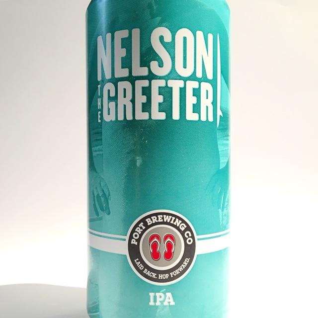 【クール便必須】 Port Brewing (ポートブルーイング) Nelson the Greeter (ネルソンザグリーター)缶 473ml