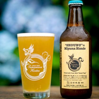【クール便必須】 志賀高原ビール SHOUBUのMiyama Blonde (菖蒲のミヤマブロンド) 330ml
