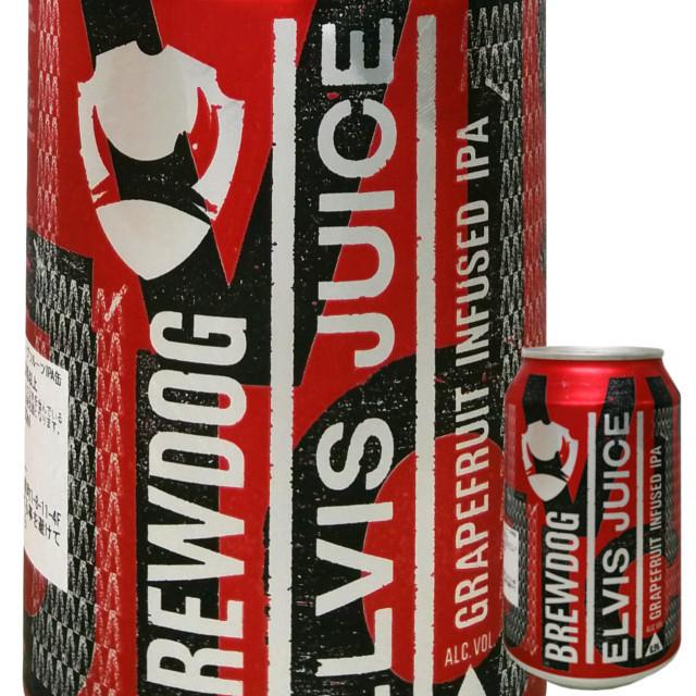 ブリュードッグ エルビスジュース IPA 330ml (缶)
