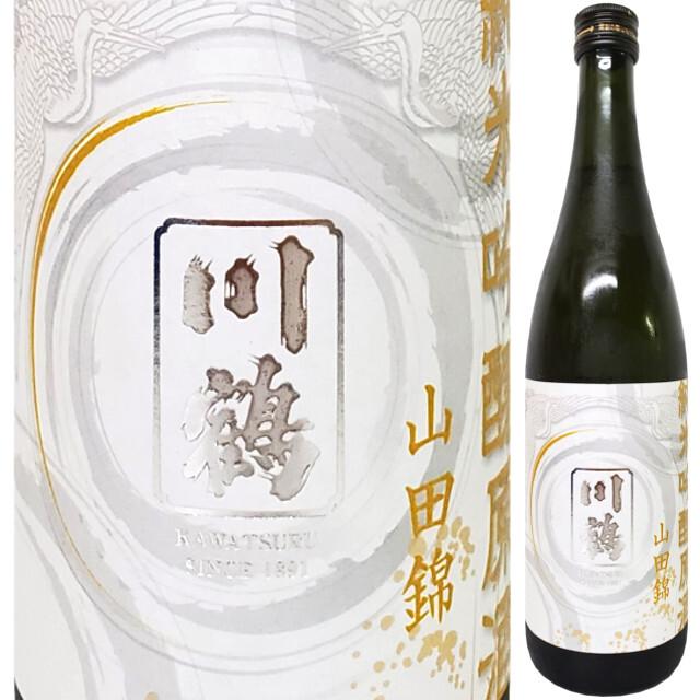 川鶴 純米吟醸原酒 山田錦14% 1800ml