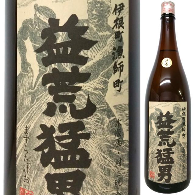 京の春 益荒猛男 特別純米原酒 山廃仕込み 30BY  1800ml
