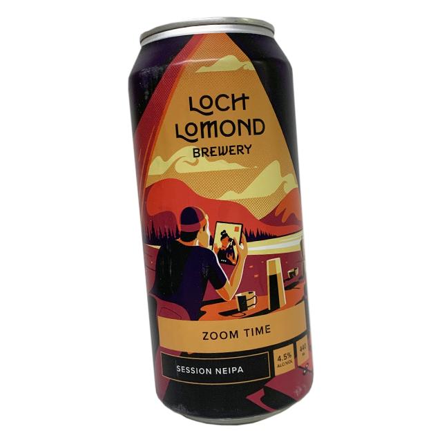 ロッホローモンド ズームタイムセッションNE IPA 440ml (缶)