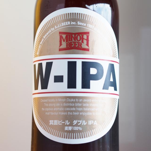 【クール便必須】 箕面ビール W-IPA 330ml