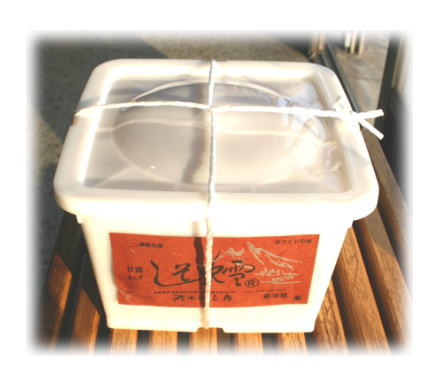 あんずのシロップ漬・『しそ吹雪 3kg 角樽』【セール】