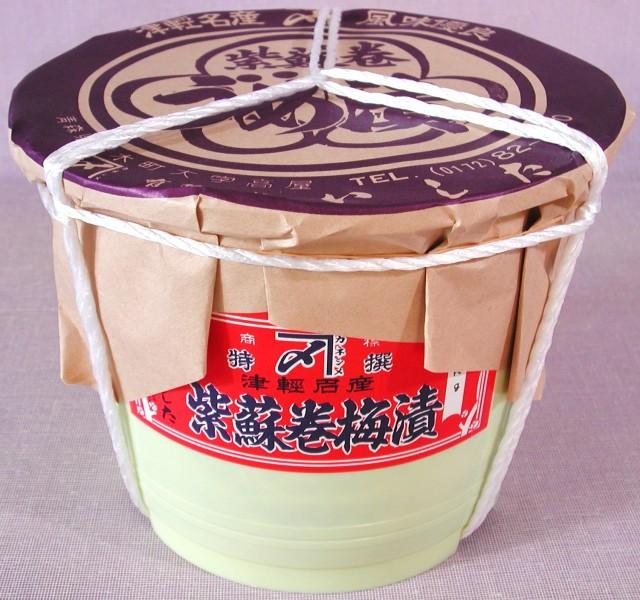 しそ巻梅漬 3kg 樽入【セール】