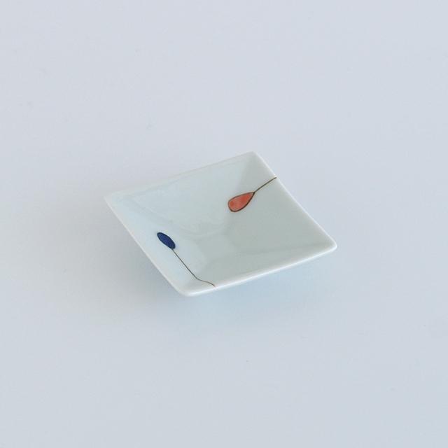 和食器通販 有田焼 窯元 金善窯 角皿 豆皿 丸皿 プレート 珍味 お手塩皿 小皿 │株式会社金善製陶所
