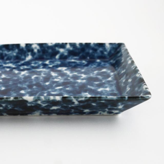 28cmリム長角プレート 金善製陶所 金善窯