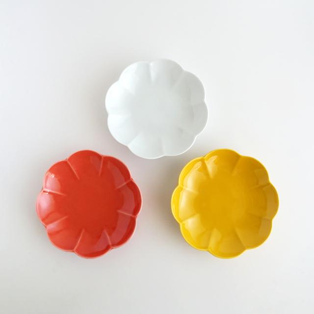 菊割皿 15cm 金善製陶所