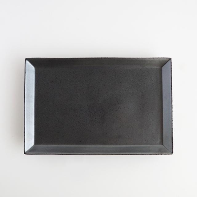 リム長角プレート 22.5cm 金善製陶所