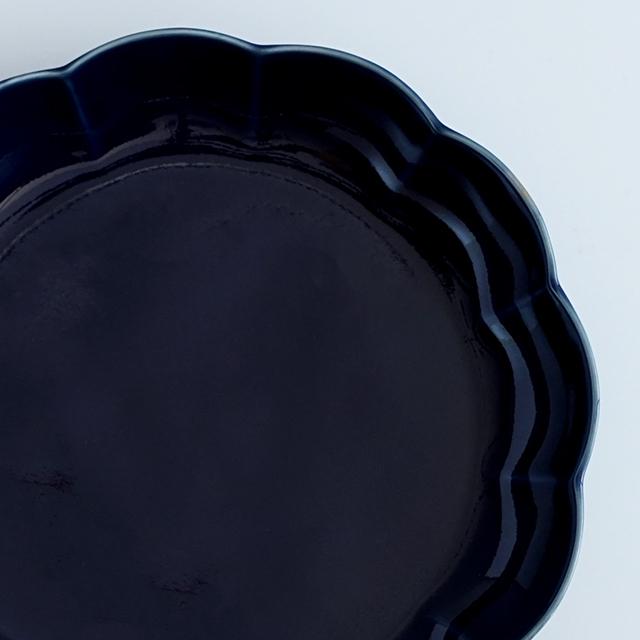 和食器通販 有田焼 窯元 金善窯 菊割 皿 深皿 プレート 菊 花 │株式会社金善製陶所