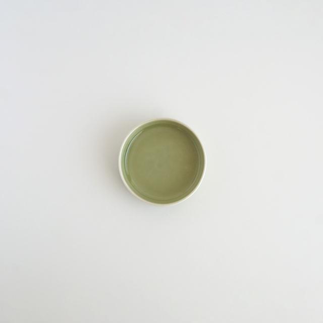バーチカルプレート 天龍青磁 金善窯 有田焼 7.5cm