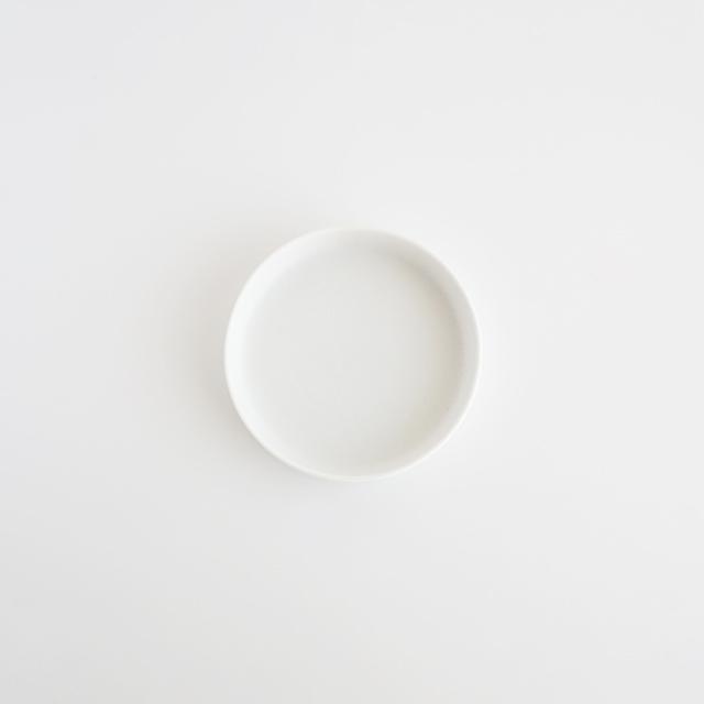 バーチカルプレート スノー 金善窯 有田焼 10cm